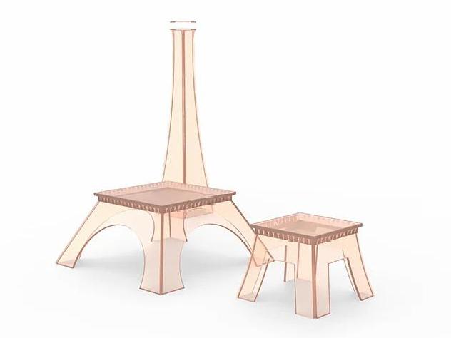 Фото №6 - Коллекция мебели в виде Эйфелевой башни