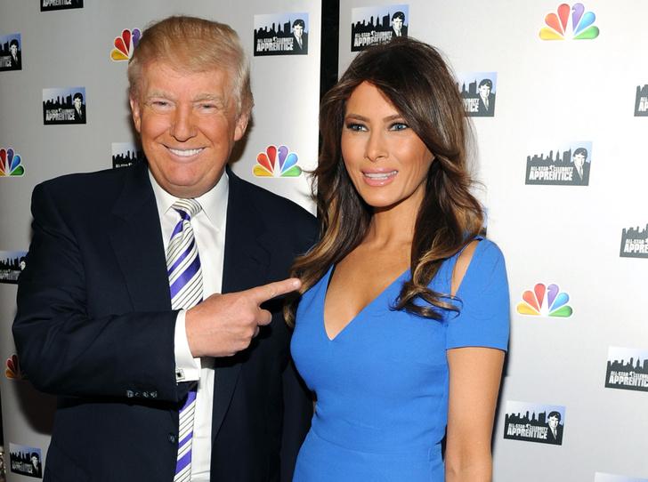 Фото №1 - Первая любовь: с кем встречалась Мелания до встречи с Дональдом Трампом