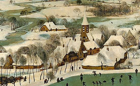 Фото №9 - «Охотники на снегу» Брейгеля: 9 интересных фактов