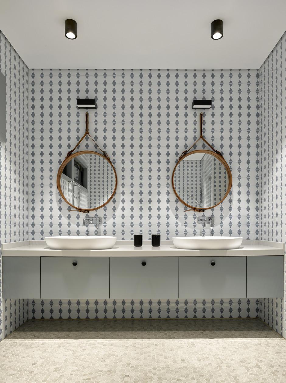 30 ванных комнат в загородных домах (галерея 0, фото 2)