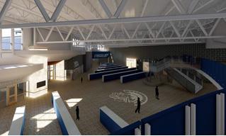 Американские архитекторы представили школу, спроектированную для уменьшения количества жертв во время шутингов