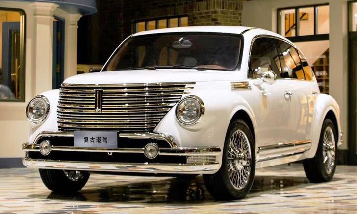 Фото №1 - В Китае показали самый жуткий автомобиль года. Он называется Wey Retro SUV