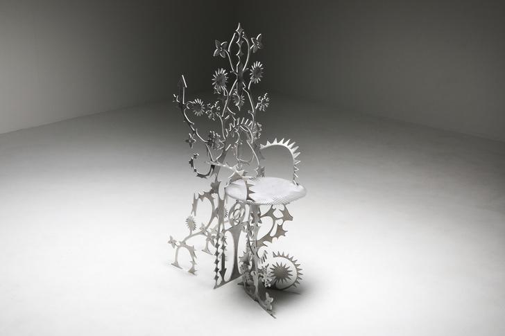 Фото №2 - Ornamentum: коллекция ажурной мебели из алюминия