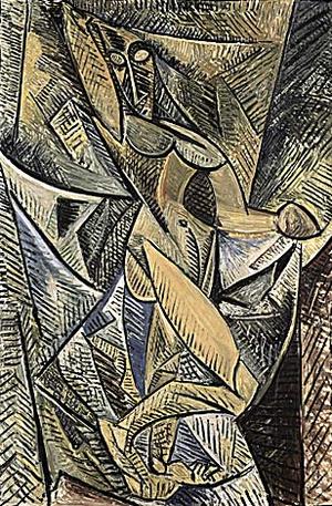 Фото №10 - Другое измерение: 8 секретов «Авиньонских девиц» Пикассо
