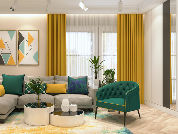 Фото №1 - Как выбрать идеальные шторы: советы дизайнера