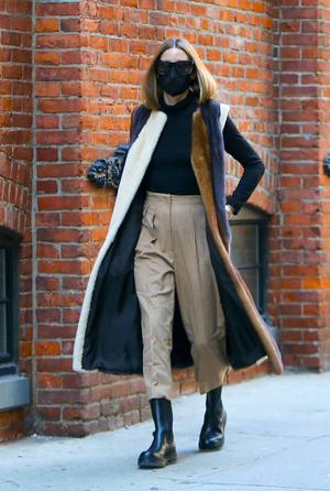 Фото №4 - Идеальная верхняя одежда для межсезонья: показывает стилист Оливия Палермо