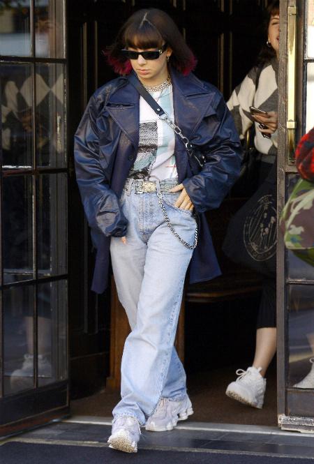 Charli XCX в Нью-Йорке