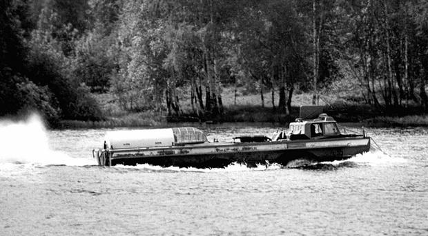 Фото №2 - ПЭУ-1Р— советский вездеход с реактивным двигателем от самолета