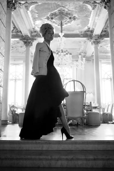 Фото №2 - Татьяна Полякова в проекте Marie Claire «Золотое сечение»