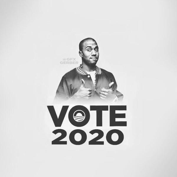 Фото №21 - Канье Уэст пошутил, что собирается баллотироваться в президенты