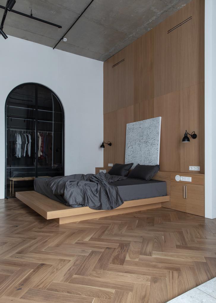 Фото №11 - Минималистичная квартира в лофт-апартаментах в Москве