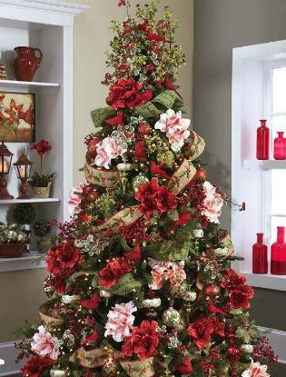 Фото №4 - Елочка, цвети: новый рождественский тренд в декоре