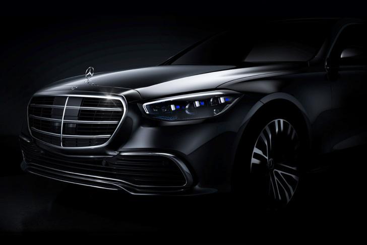 Фото №1 - S-класс подкрался незаметно: новый флагман Mercedes-Benz обещает революцию