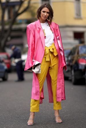 Фото №9 - Модная радуга: 10 самых смелых цветовых сочетаний, которые стоит попробовать