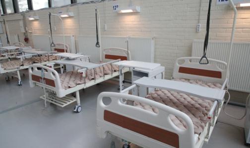 Фото №1 - Из временного госпиталя в «Ленэкспо» вывезли всех пациентов