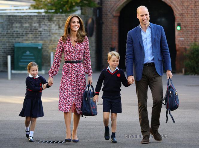 Фото №16 - Лучшие образы герцогини Кейт в 2019 году