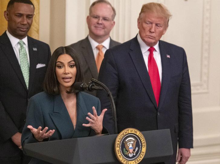 Фото №1 - Дональд Трамп пригласил Ким Кардашьян в Белый дом