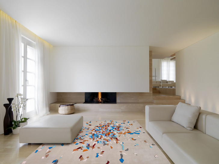 Фото №3 - Картография впечатлений: новые ковры по дизайну Елены Бавлаковой