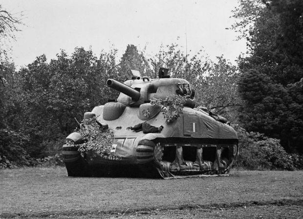 Фото №9 - «Они утонули…»: чудо-танки союзников для высадки в Нормандии
