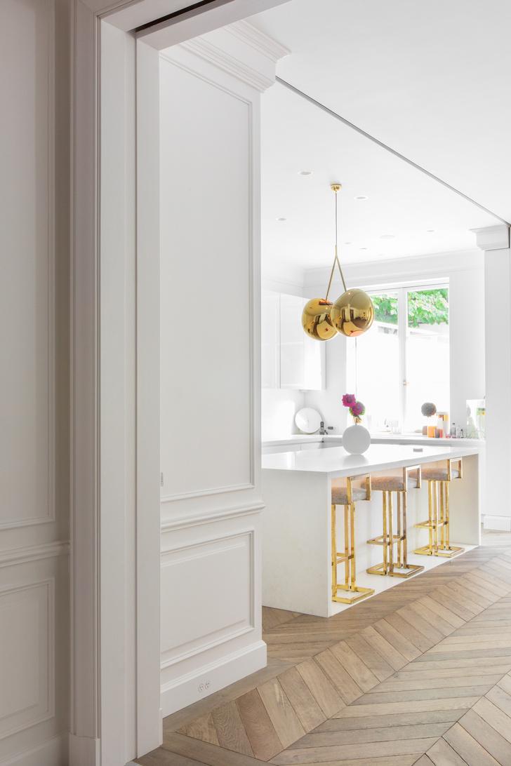 Фото №6 - Апартаменты с парижской атмосферой в Нью-Йорке
