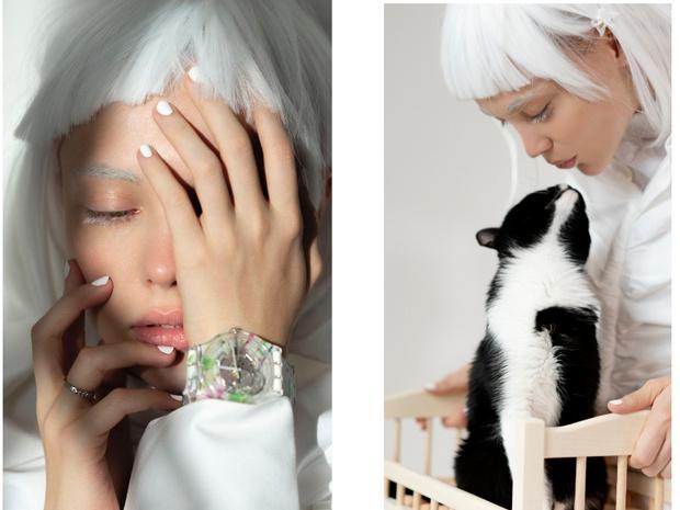 Фото №3 - Новая российская коллаборация Swatch x YOU: часы с креативом художницы Эллен Шейдлин