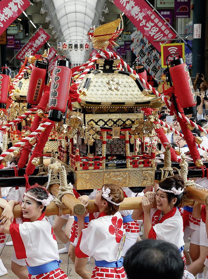 Фото №1 - Традиции: Тэндзин, Япония