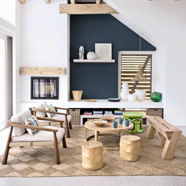 Фото №10 - Дерево в гостиной: идеи и решения