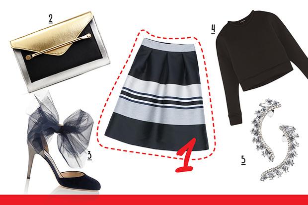 Фото №4 - С чем носить юбку-миди