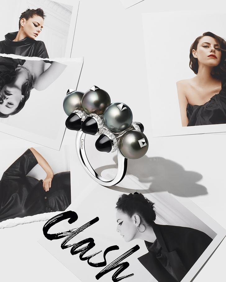 Фото №3 - Обновленная ювелирная коллекция Clash de Cartier