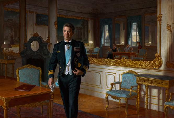 Фото №11 - Почему Королевы нет на официальных фото с крестин принца Луи