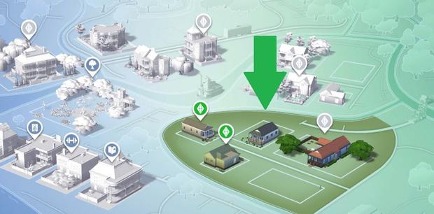 Фото №2 - Play Time: Секретные места в The Sims 4 и как туда попасть