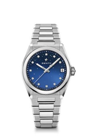 Фото №5 - Космические новинки: Zenith представили женские часы Defy Midnight