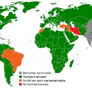 Фото №1 - Исламские страны закрывают доступ к сетевым ресурсам