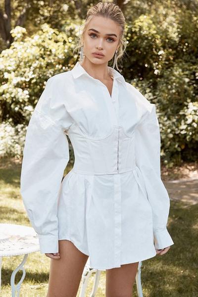Фото №4 - Рубашка оверсайз: смотри, с чем носить весной и летом 2021