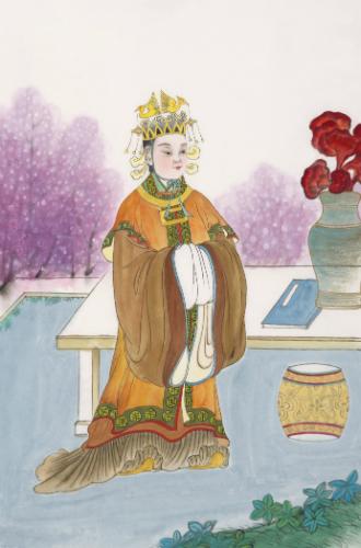 Фото №2 - Через интриги к власти: история У Цзэтянь— наложницы, ставшей императором Китая