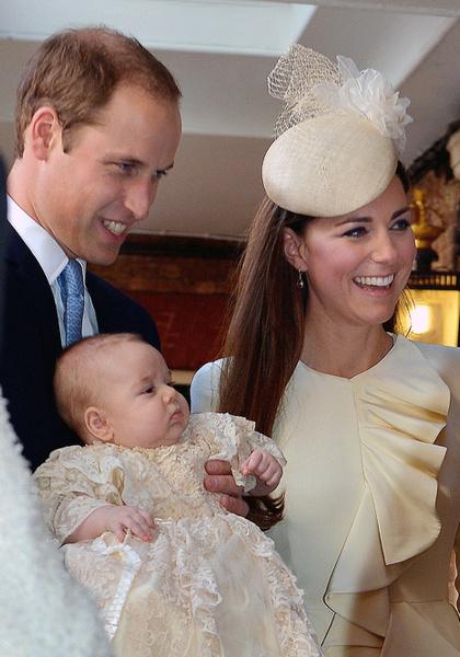 Фото №6 - Принц Джордж Кембриджский: три года в фотографиях