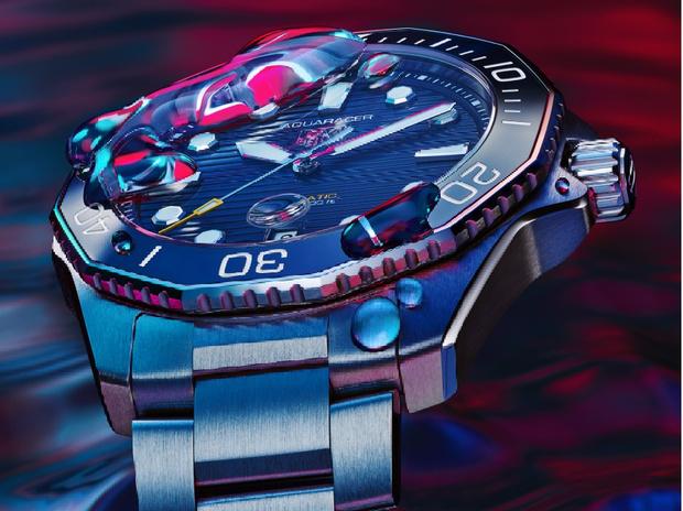 Фото №5 - Морская стихия: TAG Heuer представил новые часы Aquaracer Professional 300