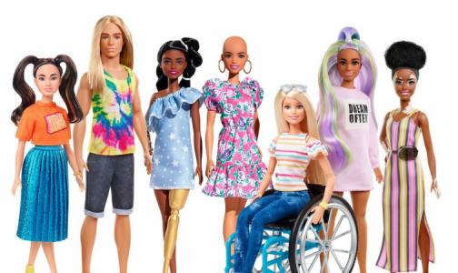 Фото №1 - Главный детский психиатр СЗФО не оценил Барби с инвалидностью и кожными заболеваниями