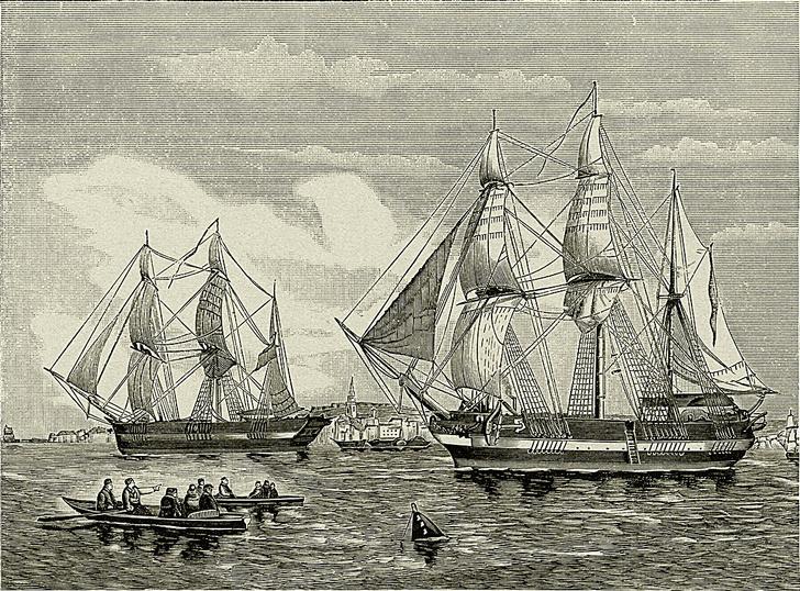 Фото №2 - Исторический детектив: Корабли без капитанов