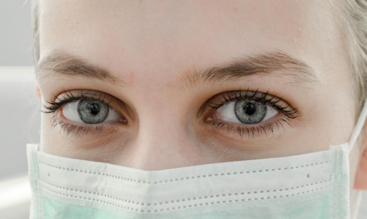 маска человек коронавирус