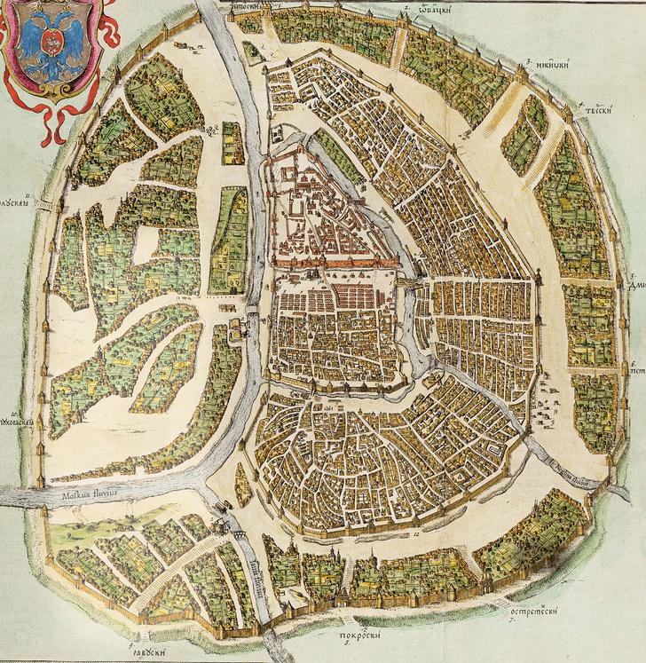 Фото №1 - Гид путешественника во времени: Москва 1671 года
