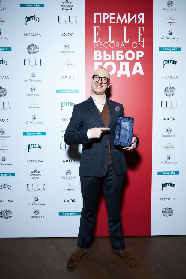 Фото №16 - VII церемония награждения победителей Премии ELLE DECORATION «Выбор года»