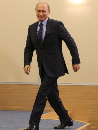 Фото №6 - Пять причин влюбиться в Владимира Путина