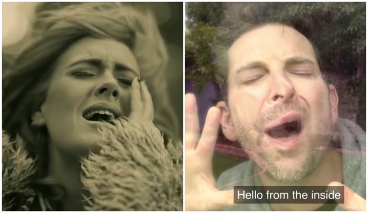 Фото №1 - Карантинная пародия на песню Адель «Hello» (видео)