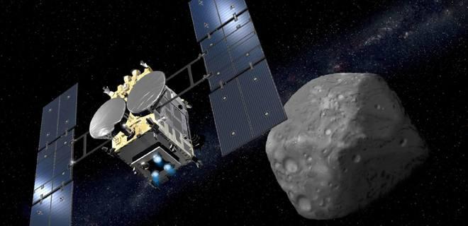 Фото №1 - Японский зонд достиг астероида Рюгу