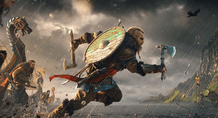 Фото №1 - Вышел кинематографичный трейлер Assassin`s Creed: Вальгалла (на русском)