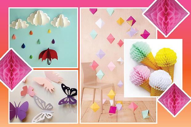Фото №2 - 5 бумажных украшений для вечеринки