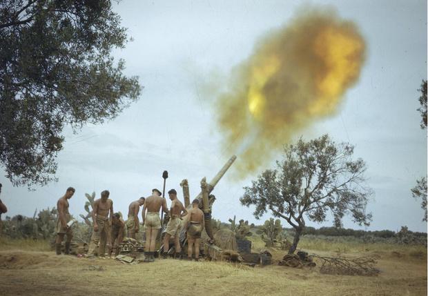 Фото №13 - 22 завораживающих цветных фото Второй мировой