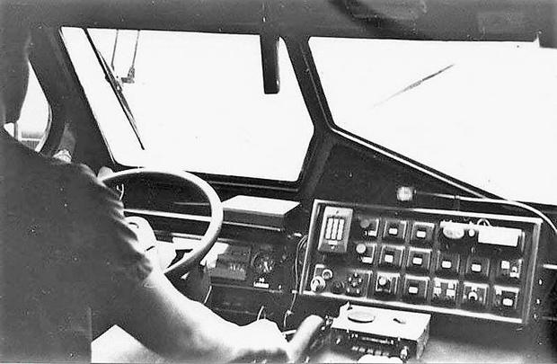 Кондиционер на рабочем месте! О таком в советское время водителю можно было только мечтать…