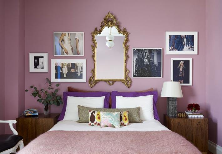 Фото №16 - Стена над изголовьем кровати: 10 идей декора
